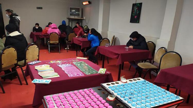 Eskişehir'de kumar oynayan 236 kişiye 450 bin lira ceza