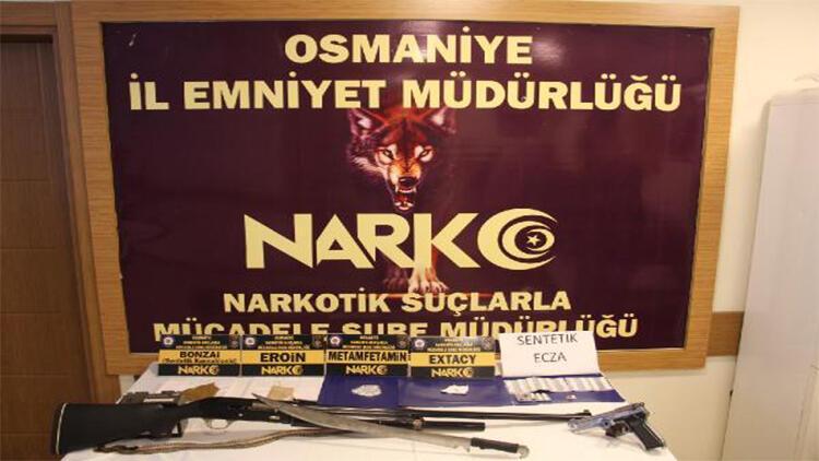 Osmaniye'de uyuşturucu operasyonu: 15 gözaltı