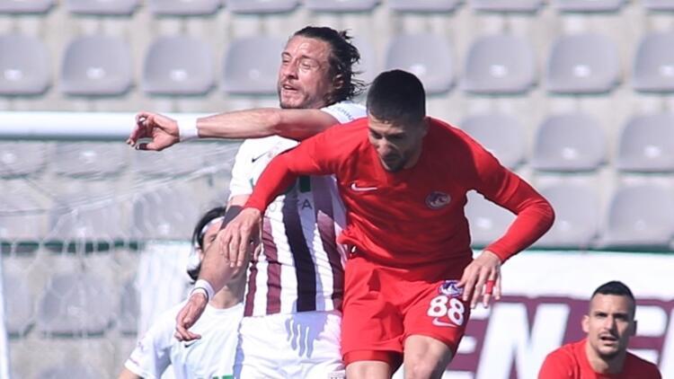 TFF 1. Lig: Royal Hastanesi Bandırmaspor 1-1 Ankara Keçiörengücü