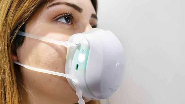 Türk teknoloji şirketi üretti: Covid'e e-maske