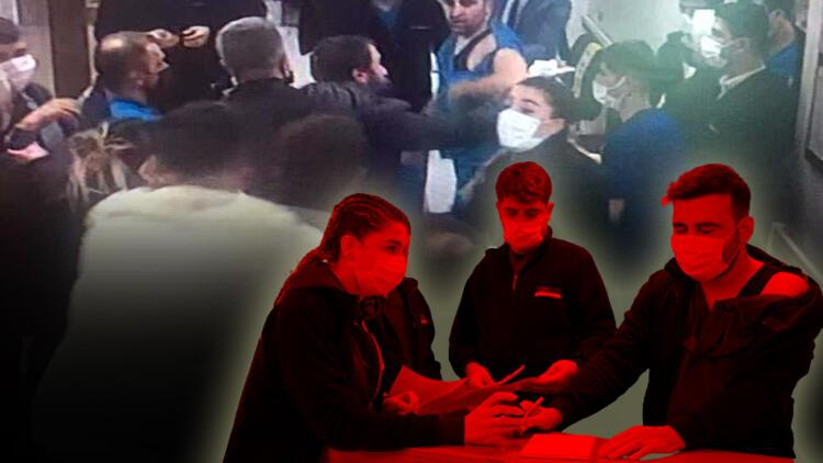 Gaziantep'te hastanede korku dolu dakikalar