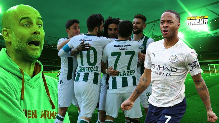 Spor Toto 1. Lig lideri Giresunspor, Premier Lig devi Manchester City'le yarışıyor
