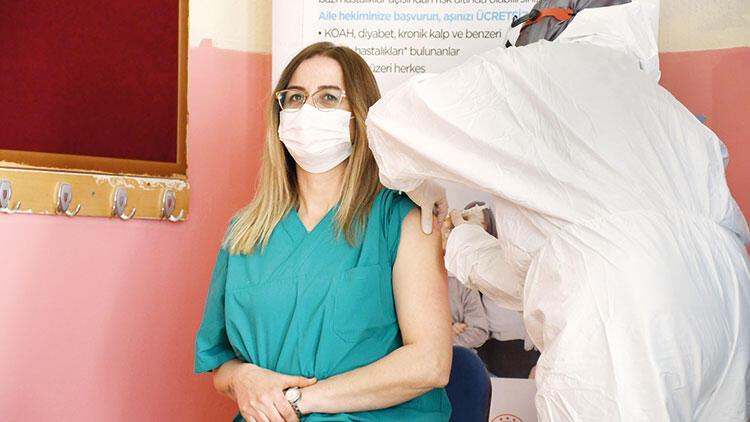 Şimdi aşı sırası öğretmenlerde