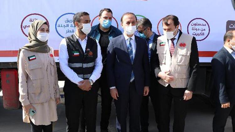 Şanlıurfa'dan Suriye'ye 28 TIR yardım gönderildi