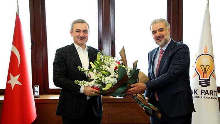 AK Parti İstanbul Teşkilatında devir teslim töreni gerçekleşti