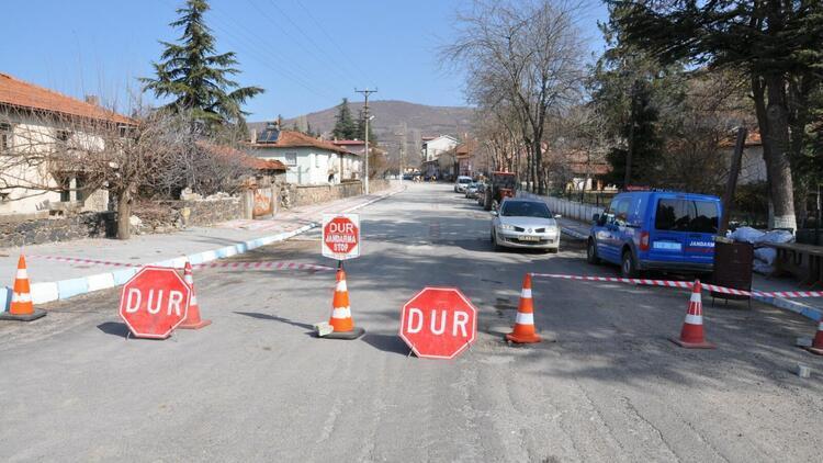 Kütahya'da Naşa beldesi ikinci kez karantinaya alındı