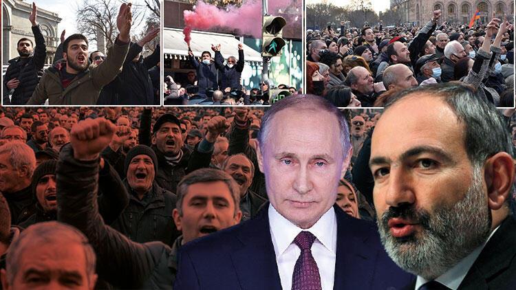 Son dakika haberi: Ermenistan yangın yeri! Ve Putin devreye girdi