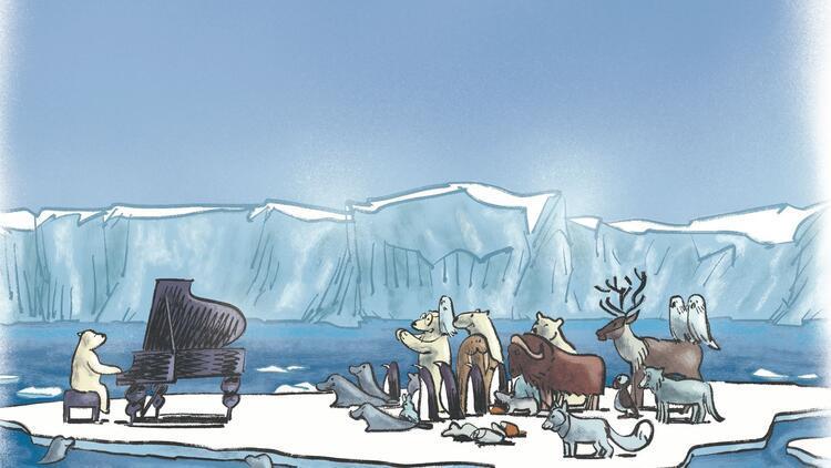 Kutup ayısı Nanuk'un diyecekleri var!