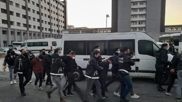 İstanbul merkezli 4 ilde uyuşturucu operasyonu! Adliyeye sevk edildiler
