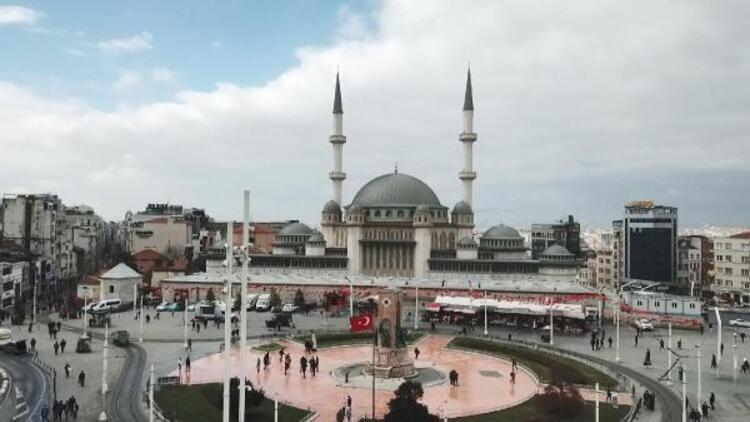 Taksim Meydanı'ndaki caminin yüzde 99'u tamamlandı! İşte son durum...