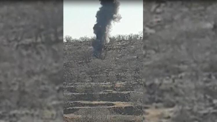'Eren-5' operasyonunda, PKK'lı teröristlerin 2 sığınağı imha edildi