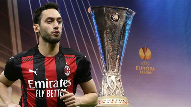 Son dakika: UEFA Avrupa Ligi'nde eşleşmeler belli oldu! Hakan Çalhanoğlu'lu Milan'a dev rakip...