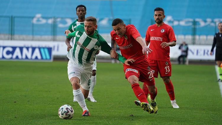 Konyaspor 0-0 Gaziantep FK (Maçın özeti)