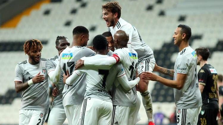 Beşiktaş 3-0 Denizlispor (Maçın özeti ve golleri)