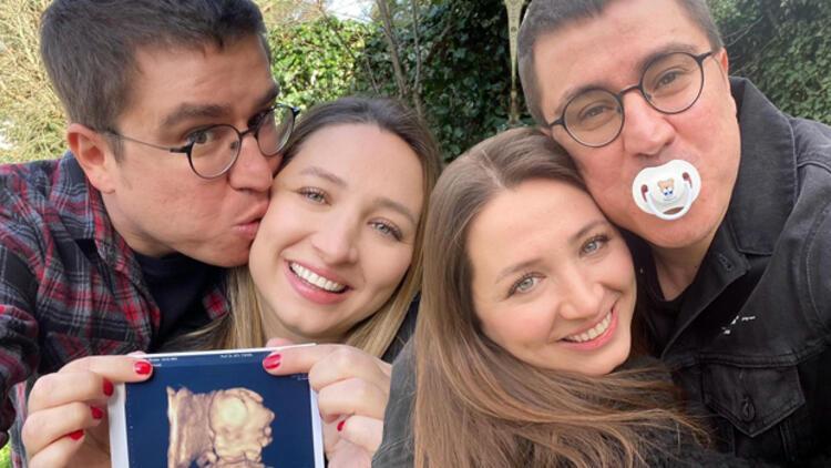 İbrahim Büyükak ve eşi Nurdan Büyükak'ın büyük heyecanı: Oğlumuzla ilk selfie'miz