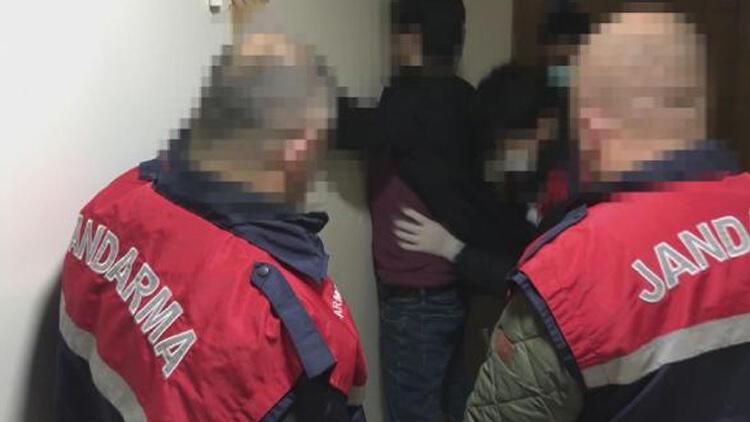 Lüks rezidansa baskın! Tutuklandılar