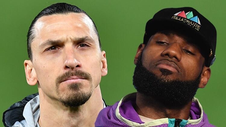 Zlatan Ibrahimovic ve LeBron James arasında gerilim tırmanıyor!