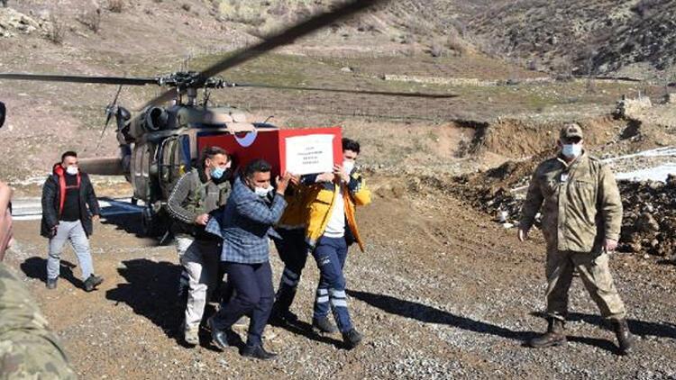 Şehit olan güvenlik korucusu Şırnak'ta son yolculuğuna uğurlandı