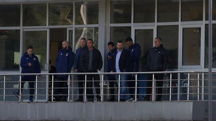 Fenerbahçe idmanında Ali Koç sürprizi! Trabzonspor maçı öncesi...