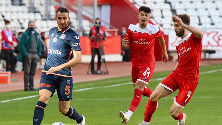 Antalyaspor 0-0 Başakşehir (Maçın özeti)