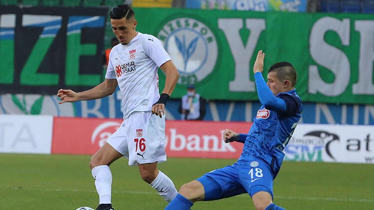 Çaykur Rizespor 0-0 Sivasspor (Maçın özeti)