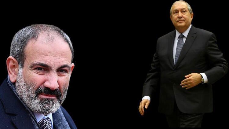 Son dakika: Ermenistan Cumhurbaşkanı Sarkisyan'dan Paşinyan'a ret!