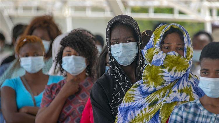 Afrika'da koronavirüs vaka sayısı 3 milyon 908 bini geçti