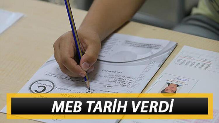 Liselerde sınav tarihleri belli oldu! Milli Eğitim Bakanlığı duyurdu! Yüz yüze sınavlar ne zaman yapılacak?