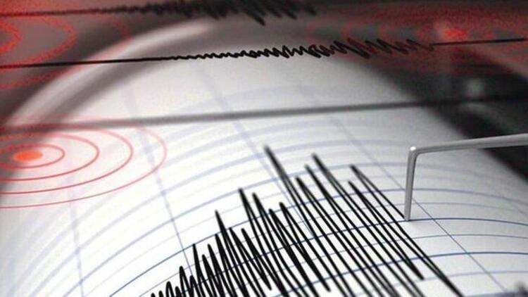 Son dakika: Marmara Denizi'nde deprem!