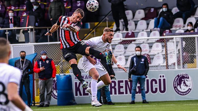 Ankara Keçiörengücü 1-1 Yılport Samsunspor