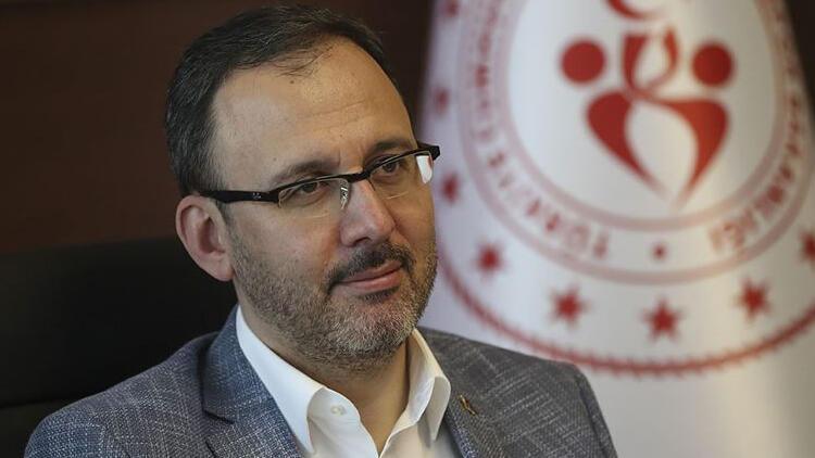 """Gençlik ve Spor Bakanı Kasapoğlu: """"Mart'ta seyirci alınmasını istiyoruz"""""""
