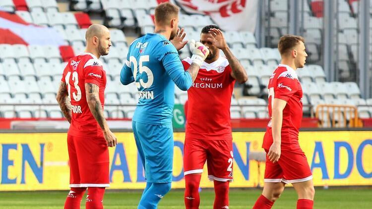 Antalyaspor, 2021'de yenilgi yüzü görmedi