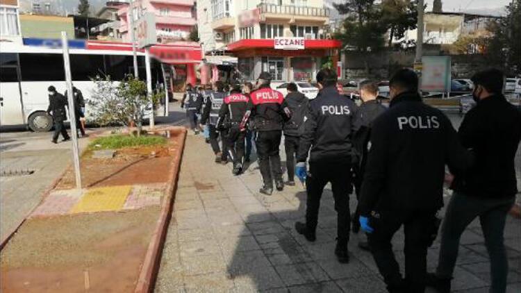 Kahramanmaraş'ta aranan 346 kişi yakalandı, 201'i tutuklandı