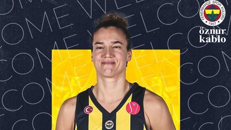 Laura Nicholls yeniden Fenerbahçe Öznur Kablo'da
