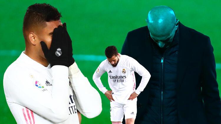Real Madrid'e Real Sociedad'dan ağır darbe!
