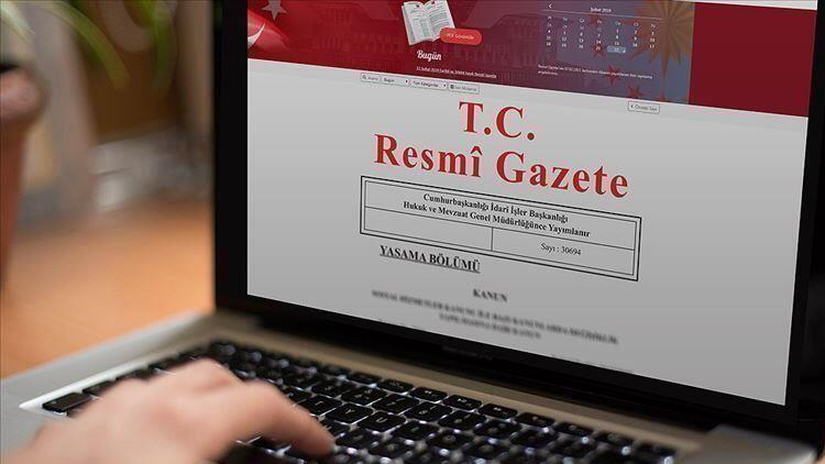 TBMM kararları Resmi Gazete'de yayımlandı