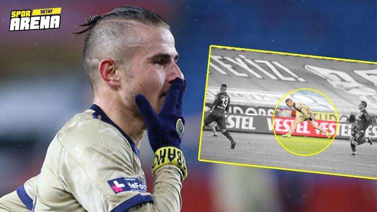 Fenerbahçe'de Pelkas'ın Trabzonspor'a attığı goldeki şutun hızı ortaya çıktı!