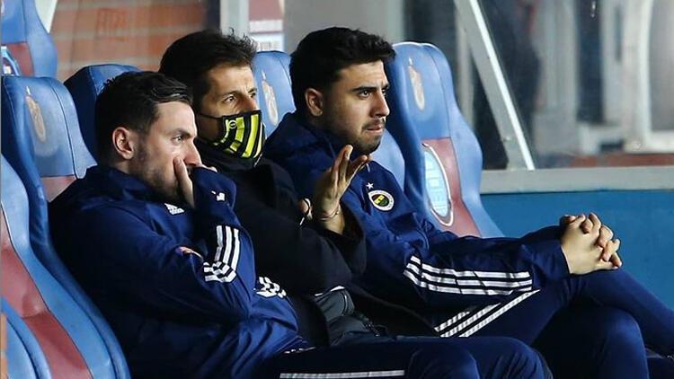 Fenerbahçe'de Emre Belözoğlu tarz değiştirdi, Trabzon'da galibiyet geldi