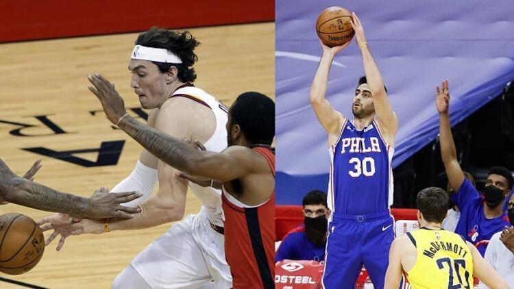 NBA'da Gecenin Sonuçları: Furkan 19, Cedi 11 sayıyla takımlarının galibiyetine katkı yaptı