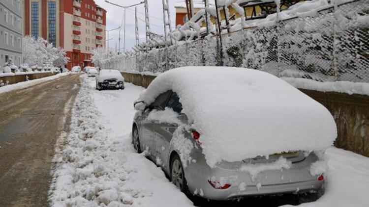 Muş'ta kar kalınlığı 30 santim; 234 köy yolu kapandı