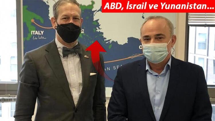 Son dakika haberler... ABD ve İsrail'den skandal harita!