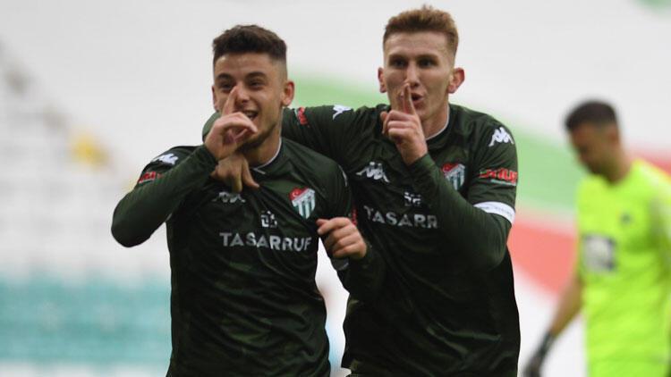 Kötü gidişe 'Dur' diyen Bursaspor yeniden play-off için umutlandı
