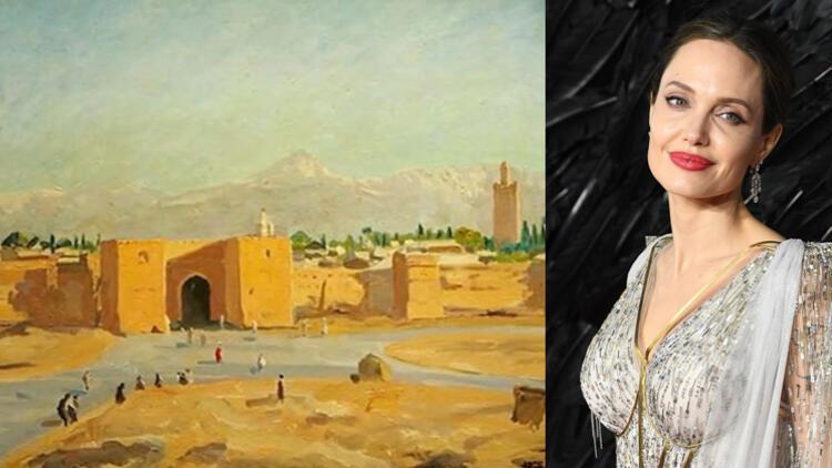 Angelina Jolie'nin koleksiyonunda bulunan Churchill tablosu 85 milyona satıldı
