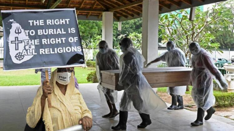 Sri Lanka'dan tuhaf karar: Koronadan ölenleri uzak adaya defnedecekler!