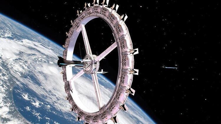 Dünyayı meraklandıran haber! İlk uzay otelinin açılacağı tarih belli oldu!
