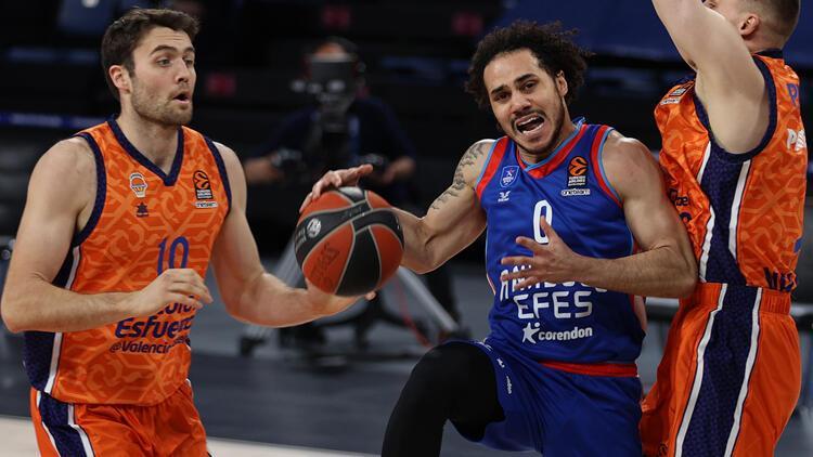 Anadolu Efes 99-83 Valencia Basket
