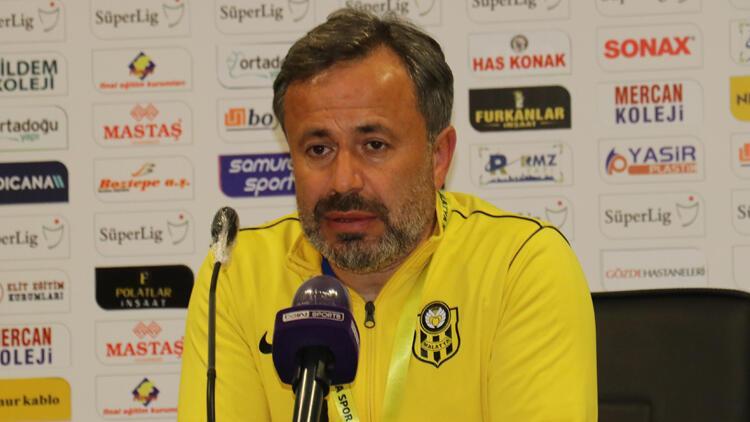 """Yeni Malatyaspor Teknik Sorumlusu Hakan Çalışkan: """"Mücadelenin karşılığı bu olmamalıydı"""""""
