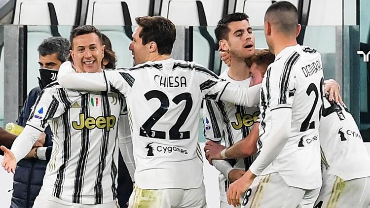 Juventus, Spezia'yı ikinci yarıda bulduğu gollerle 3-0 yendi
