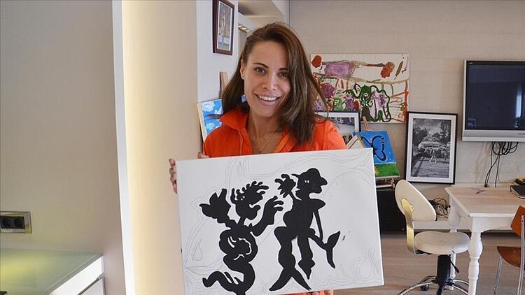 Fenerbahçeli Sosa'nın eşi Carolina Alurralde, tam bir İstanbul aşığı