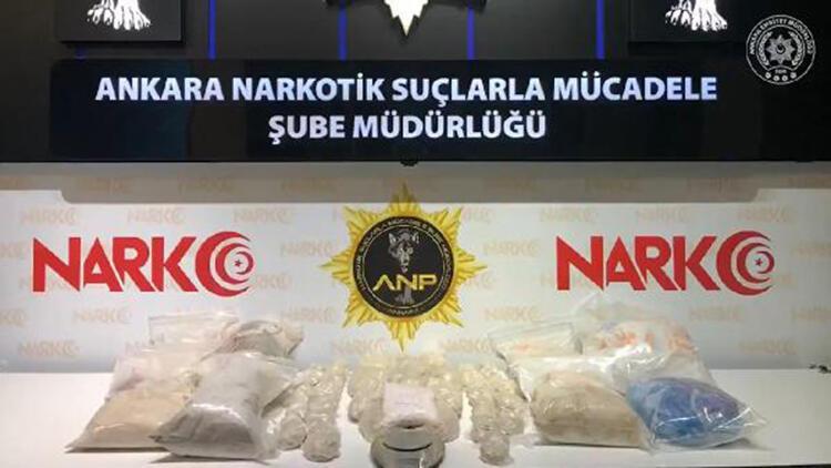 Ankara'da 31 kilo eroin ele geçirildi